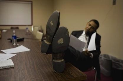 Obama sans-gêne
