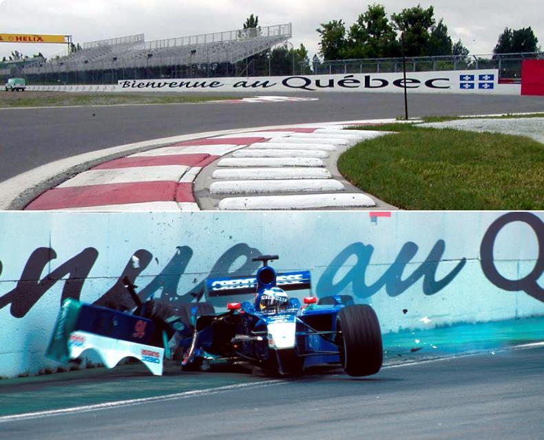 Le mur des champions, GP du Canada