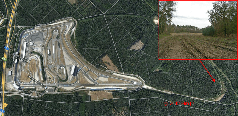 Circuit d'Hockenheim, rendu à la nature