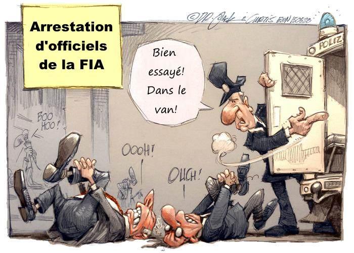 FIA arrestations