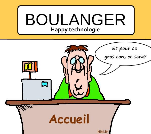 Accueil chez Boulanger