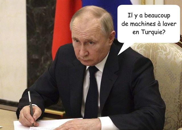 Truquie contre Russie