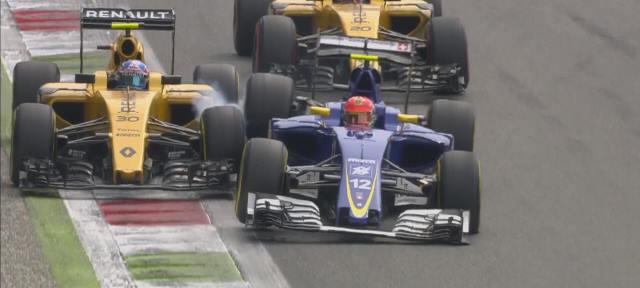 2016 Monza, Palmer vs Nasr