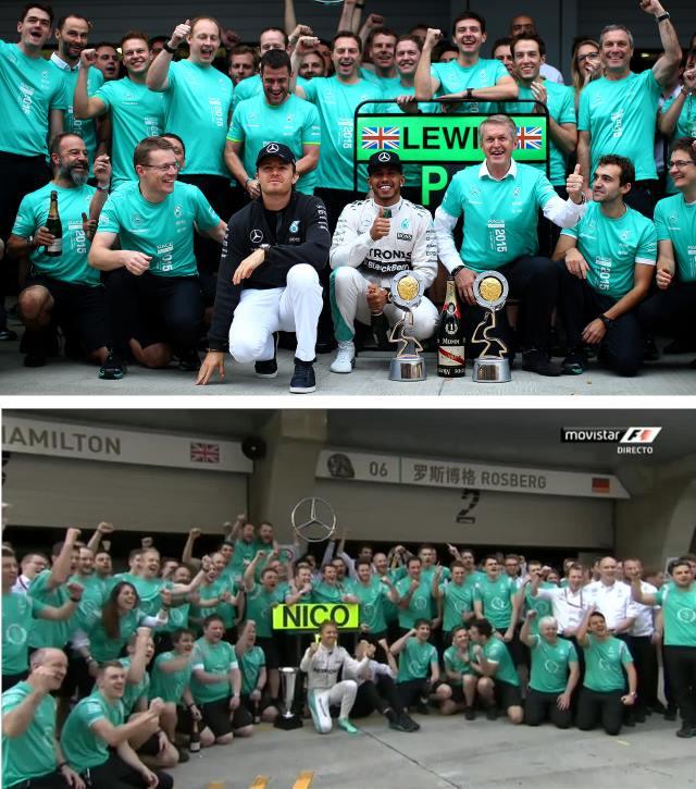Quand Hamilton ou Rosberg gagne