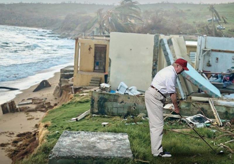 Trump à Porto-Rico