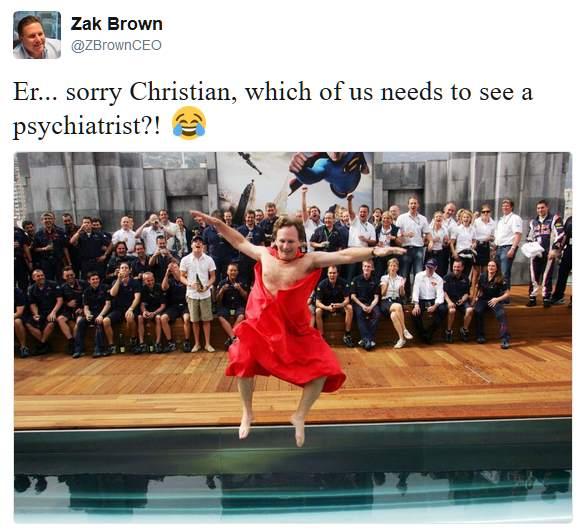 Zak Brown répond à Horner