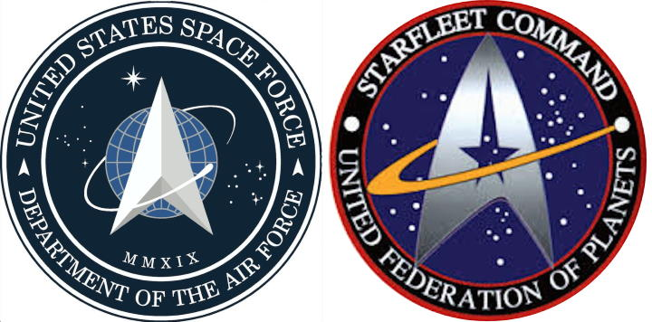 Force spatiale USA ou Star Trek?