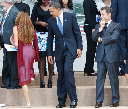 Obama lubrique